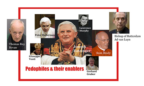Catholic pedophiles and their enablers