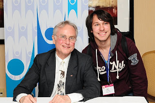Richard Dawkins and Ben Conover at AHA 2011